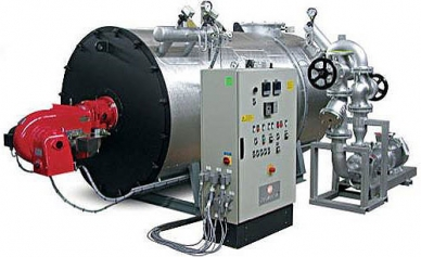 Heat transfer oil plant