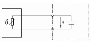 PTC/NTC in 2-Leiter-Schaltung