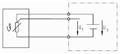 PTC/NTC in 3-Leiter-Schaltung