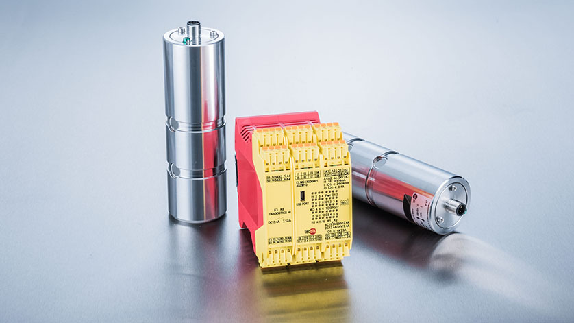 轴销与ELMS1安全电子仪表密不可分