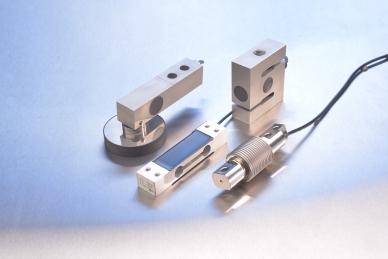 称重技术中测力传感器的不同设计:剪切梁、弯曲梁、单点式,以及S型测力传感器。