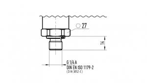 DIN 3852-E 或 DIN EN ISO 1179-2?
