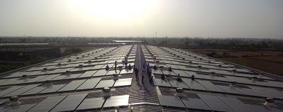 Micro Precision的太阳能电池板