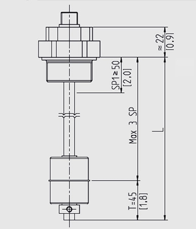 Float switch (drawing)